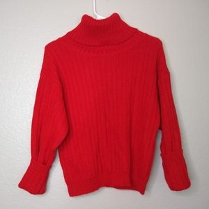Vintage Peruvian Connection Red Alpaca Sweater